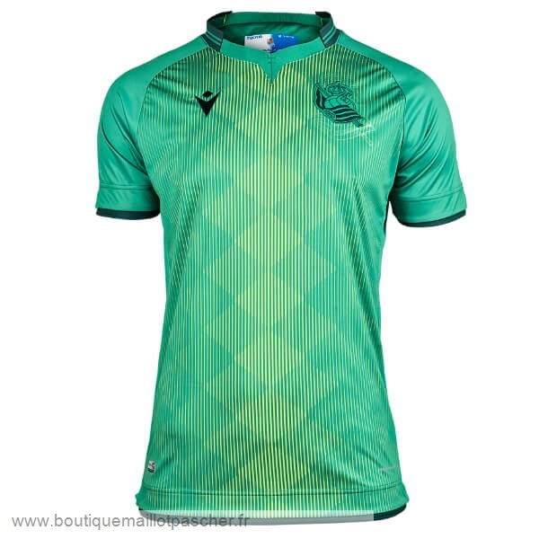 Promo Exterieur Maillot Real Sociedad 2019 2020 Vert