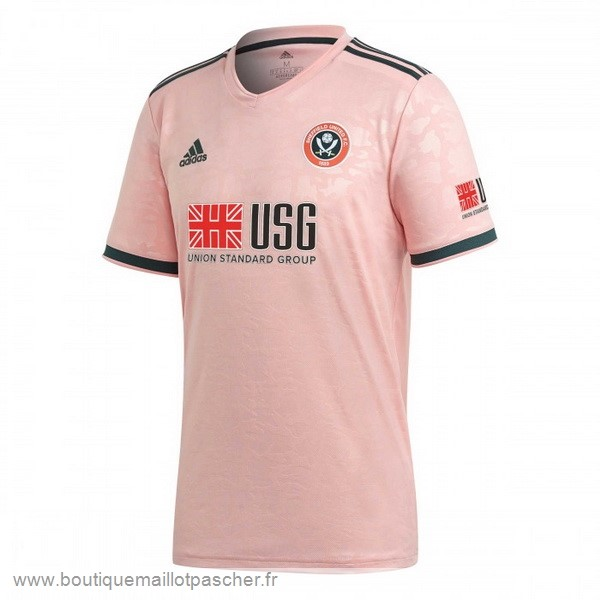 Promo Exterieur Maillot Sheffield United 2020 2021 Rose